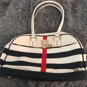 Lululemon Nautical Gym Bag